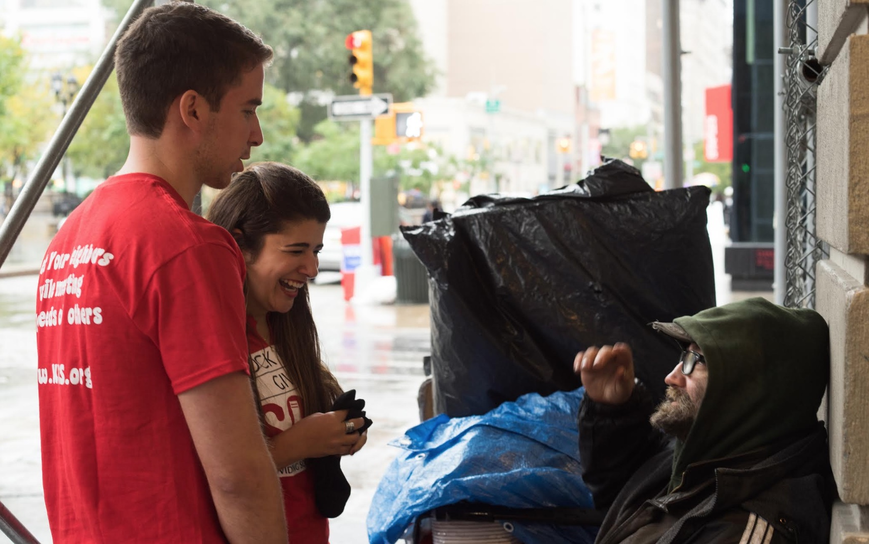 The Collegiate Sock Fairy Who Warms the Feet of New York's Homeless
