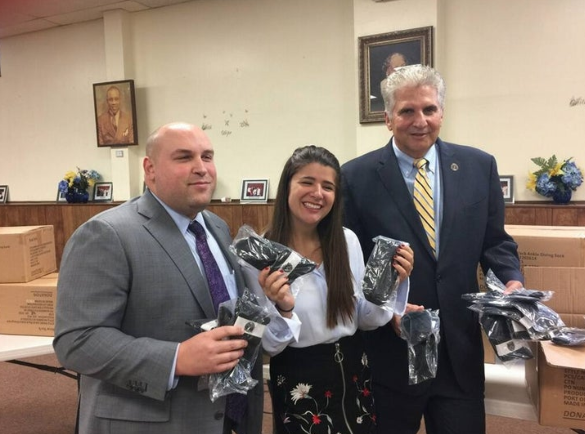 Bloomfield Is Giving Out 50000 Pairs Of Socks To Homeless People